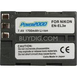 EN-EL3E 1700mAh Lithium Battery for Nikon D90 / D300 / D700/D300S