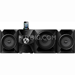"700-Watt Music System with 8"" Sub, USB, iPhone/iPod Compatibility - MHC-EC919iP"