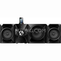 "700-Watt Music System with 8"" Sub, USB, iPhone/iPod Compatibility - MHC-EC919iP"