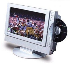 TC-11LV1 11in. Flat LCD TV with Built-In DVD