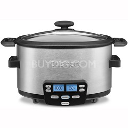 3-In-1 Cook Central Multi-Cooker, Slow Cooker, Steamer - MSC-400