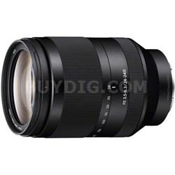 SEL24240 - FE 24-240mm F3.5-6.3 OSS Full-frame E-mount Tele lens - OPEN BOX