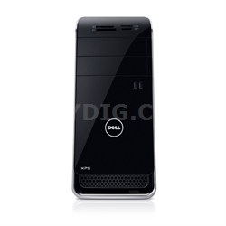 XPS 8700 Desktop Computer - Intel Core i5-4790 3.20 GHz - 12 GB RAM - Black