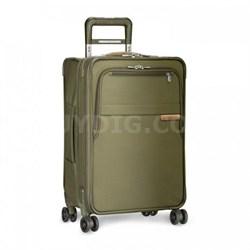 "Baseline 22"" Domestic Carry-On Expandable Luggage Spinner (Olive) U122CXSP-7"