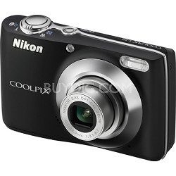 COOLPIX L24 14 MP Digital Camera with 3.6x NIKKOR Optical Zoom Lens Black
