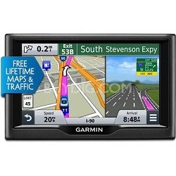 nuvi 57LMT 5 inch GPS Navigation System with Lifetime Maps & Traffic Updates