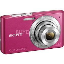Cyber-shot DSC-W610 Pink 14.1 MP Compact Digital Camera