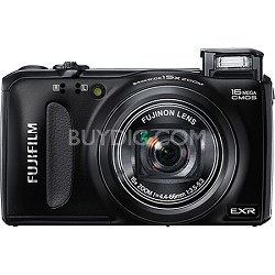 FinePix F660EXR 16MP EXR CMOS Digital Camera (Black)