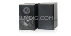 SP2S Book Shelf Surround Speakers (Pair) BLACK