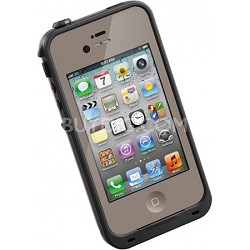 Waterproof Shockproof and Dirtproof iPhone Case for iPhone 4S/4- Dark Flat Earth