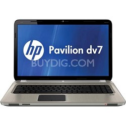 "Pavilion 17.3"" DV7-6165US Entertainment Notebook PC - AMD Quad-Core A8-3500M- OB"