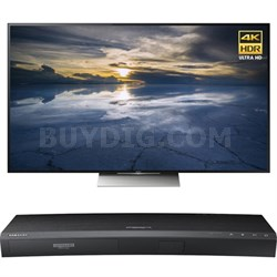 65-Inch Class 4K HDR Ultra HD TV - XBR-65X930D w/ Samsung Disc Player