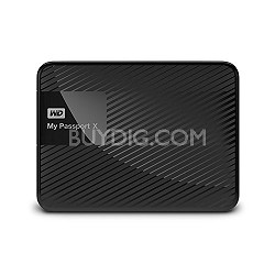 WD My Passport X 2TB portable gaming drive for Xbox One (USB 3.0)