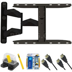 "Pro Series Large Extension TV Mount & Set Up Kit for 37""-70"" TVs up to 85LB"