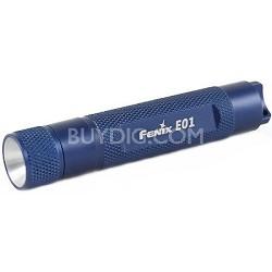 E01 Blue Finish LED Flashlight