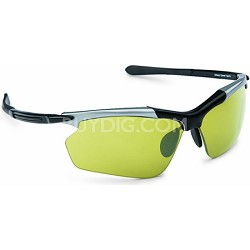 RAZR Hyperlite Transitions Sunglasses - Black/Silver Frame/NEOX SolFx Lens