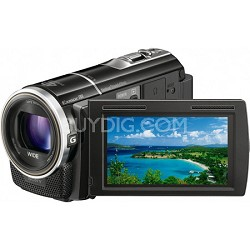 HDR-PJ10 Handycam 16GB Full HD Camcorder w/ Projector and GPS-OPEN BOX