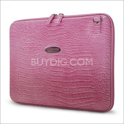 MEPFCX Techstyle portfolio pink computer case for Laptops up to 15.4""