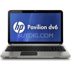 """Pavilion 15.6"""" DV6-6120US Entertainment Notebook PC - Intel Core i3-2310M Proc."""