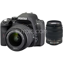 K-r Digital SLR Digital Camera Black w/ 18-55mm and 50-200mm Lens