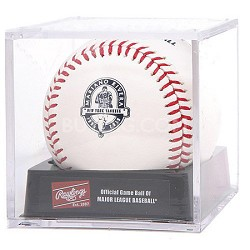 Official 2013 Mariano Rivera Commemorative Retirement Baseball in Cube