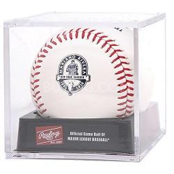 Official 2013 Mariano Rivera Commemorative Retirement Baseball in Cube