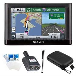 "nuvi 55LM Essential Series GPS Nav w/ Lifetime Maps 5"" Display Essentials Bundle"