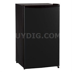3.3 Cubic Feet Single Reversible Door Refrigerator in Black - WHS-121LB1