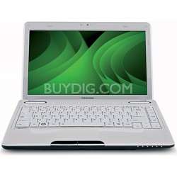 "Satellite 13.3"" L635-S3104WH Notebook PC - White Intel Core i5-480M Processor"