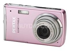 "Optio M50 2.5"" LCD 8.0 MP, 5x Zoom Digital Camera (Pink)"