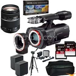 NEX-VG900 Full-Frame HD Camcorder + SAL 28-75 f 2.8 Full Frame Lens