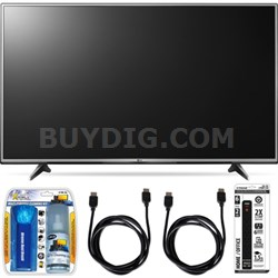 55UH6150 55-Inch 4K UHD Smart TV with webOS 3.0 Accessory Bundle
