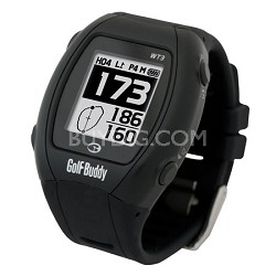Golf GPS/Range Finder Watch, Black