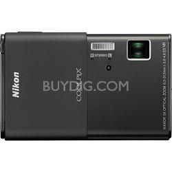 COOLPIX S80 14.1 MP Ultra-Slim 3.5 in Touchscreen Black Camera w/ HD Video