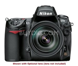 D700 12MP FX Pro DSLR Body w/ Nikon International Warranty