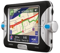 "GPS-402 MapTrax Automotive GPS Navigator with 4"" Display"