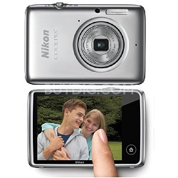 COOLPIX S02 13.2MP 3X Optical Zoom Touchscreen Camera 1080p Video - Refurbished
