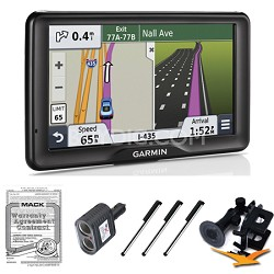 "nuvi 2757LM 7"" GPS Navigation System with Lifetime Map Updates Ultimate Bundle"