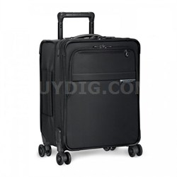 "Baseline Collection 19"" Commuter Expandable Luggage Spinner (Black) - U119CXSP-4"