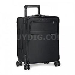"Baseline Collection 19"" Commuter Expandable Luggage Spinner (Black) - U119CXSP-4"