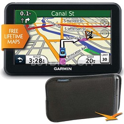 nuvi 50LM 5 inch Touchscreen GPS Navigation - Refurbished with Bonus Garmin Case