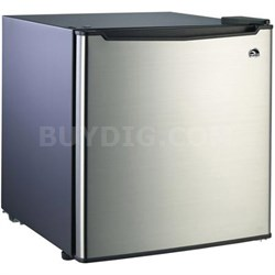 FR100I-1.6 CU Ft Compact Fridge Stainless Steel
