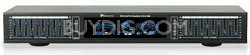 Dual 10 Band Graphic Equalizer with individual LED indicators (Black)