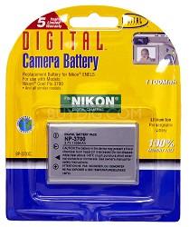 EN-EL5 1100mAh Lithium Battery for Coolpix P3, P4, P5000, S10 and similar