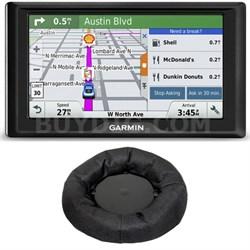Drive 50LM GPS Navigator Lifetime Maps (US) 010-01532-0C Dashboard Mount Bundle