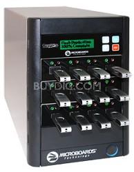 CopyWriter FLASH USB Duplicator, 1 Reader Port and 11 Recorder Ports
