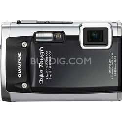 Stylus Tough 6020 Waterproof Shockproof Freezeproof 14MP Digital Camera (Black)