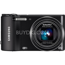 WB150F 14 MP 18X Optical Zoom Wi-Fi Digital Camera - Black
