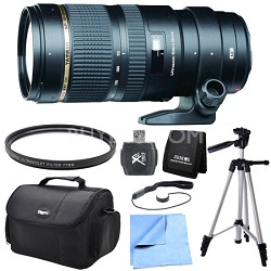 SP 70-200mm F/2.8 DI VC USD Telephoto Zoom Lens for Canon EOS Exclusive Pro Kit