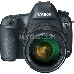 EOS 5D Mark III 22.3 MP Full Frame Digital SLR Camera 24-105mm f/4L IS Lens Kit